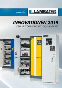 Innovationen 2019 - Gefahrstofflagerung und Handling